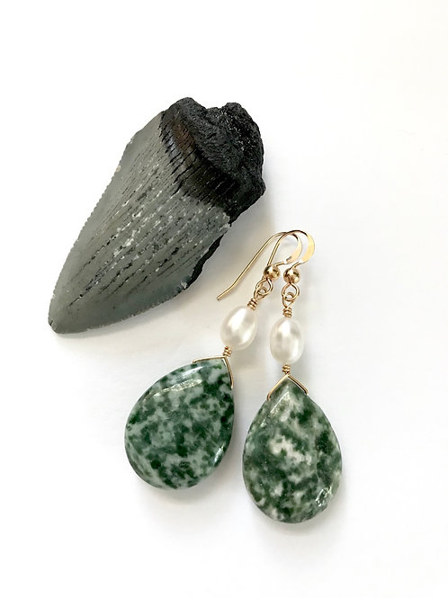 Tree Agate Drops