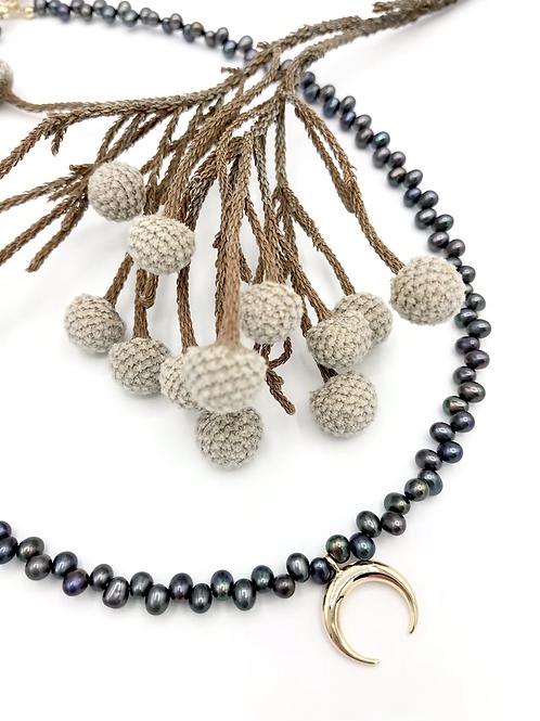 Twilight Crescent Necklace
