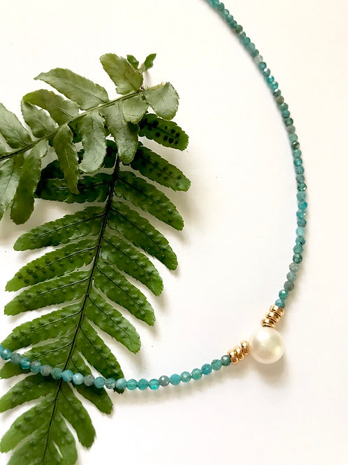 Apatite Tidal Pool Necklace