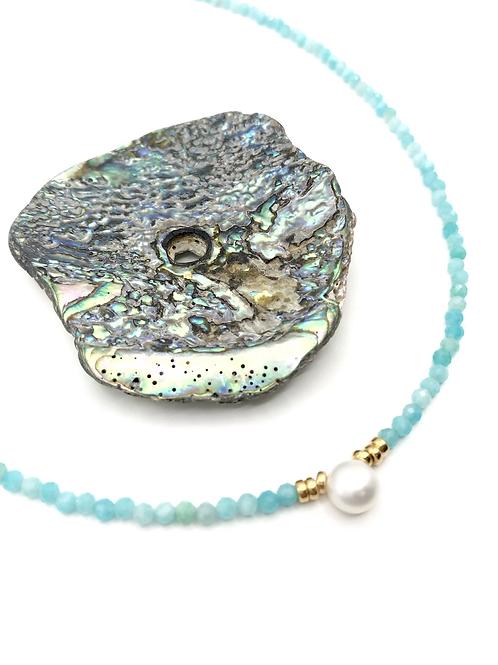 Amazonite Tidal Pool Necklace