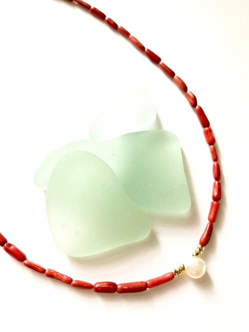 Bamboo Coral Tidal Pool Necklace