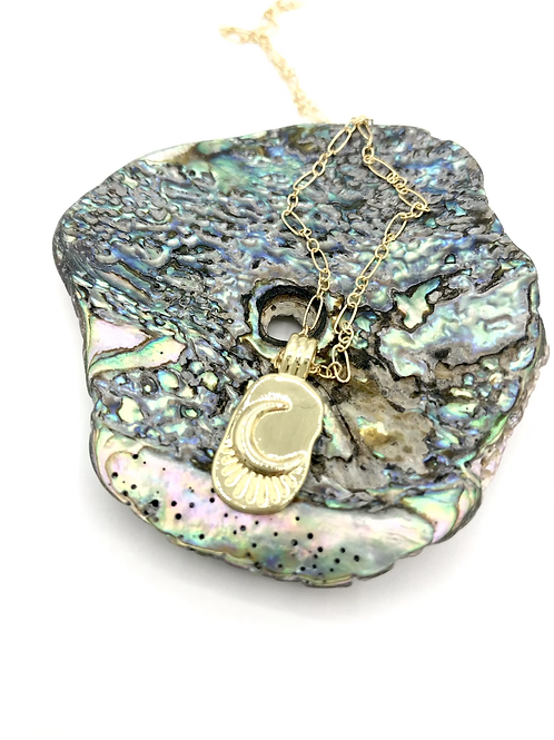 Moon Treasure Chest Necklace