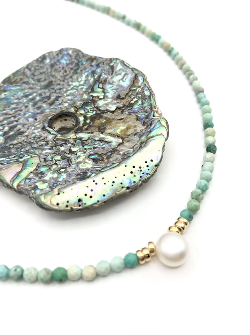 Turquoise Tidal Pool Necklace