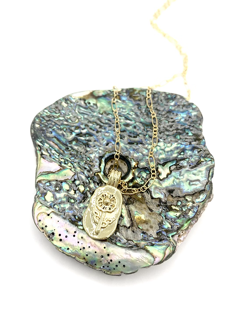 Bloom Treasure Chest Necklace