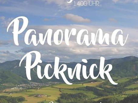 PANORAMA PICKNICK AM HOCHHUBERGUT IN ASCHACH 22. JUNI