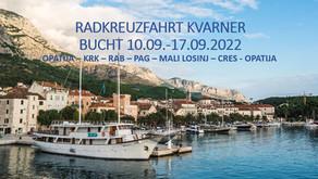 EMOBILITY RADKREUZFAHRT KVARNER BUCHT 10.09.-17.09.2022
