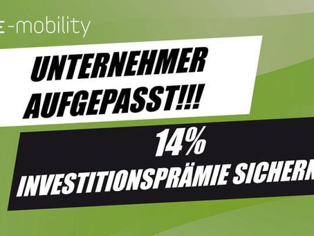 COVID 19 - INVESTITIONSPRÄMIE FÜR UNTERNEHMEN!