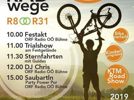 Eröffnung Radweg Klaus/St. Panpraz 19. Mai