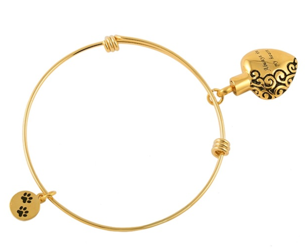 Always in my Heart Bracelet Gold