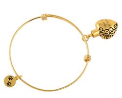 Always in my Heart Bracelet Gold