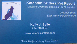 Katahdin Kritters Pet Resort