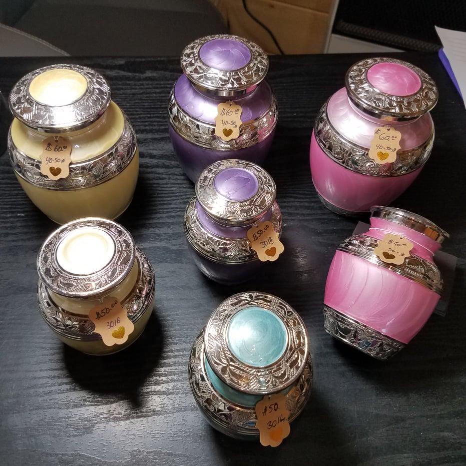 Glazed Urns