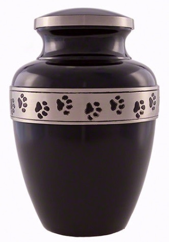Black Stone w/Paw Prints