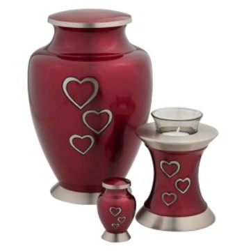 Red Heart and Red Heart Tea Light