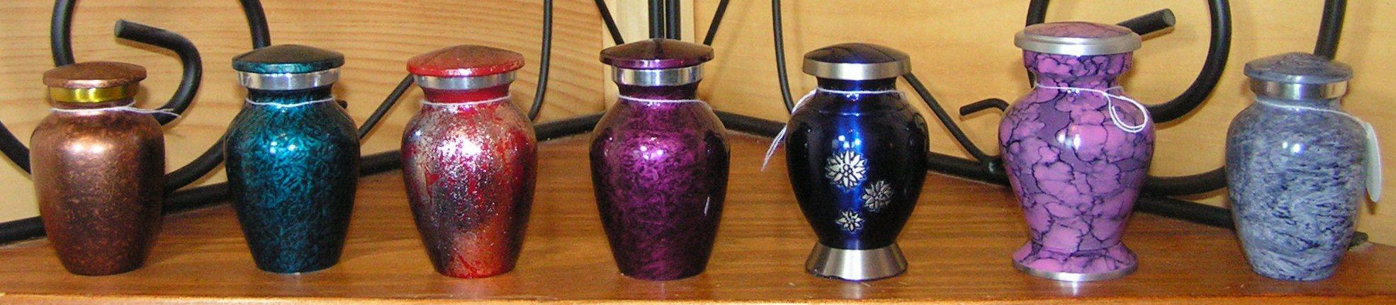 Miniature Keepsake Urns