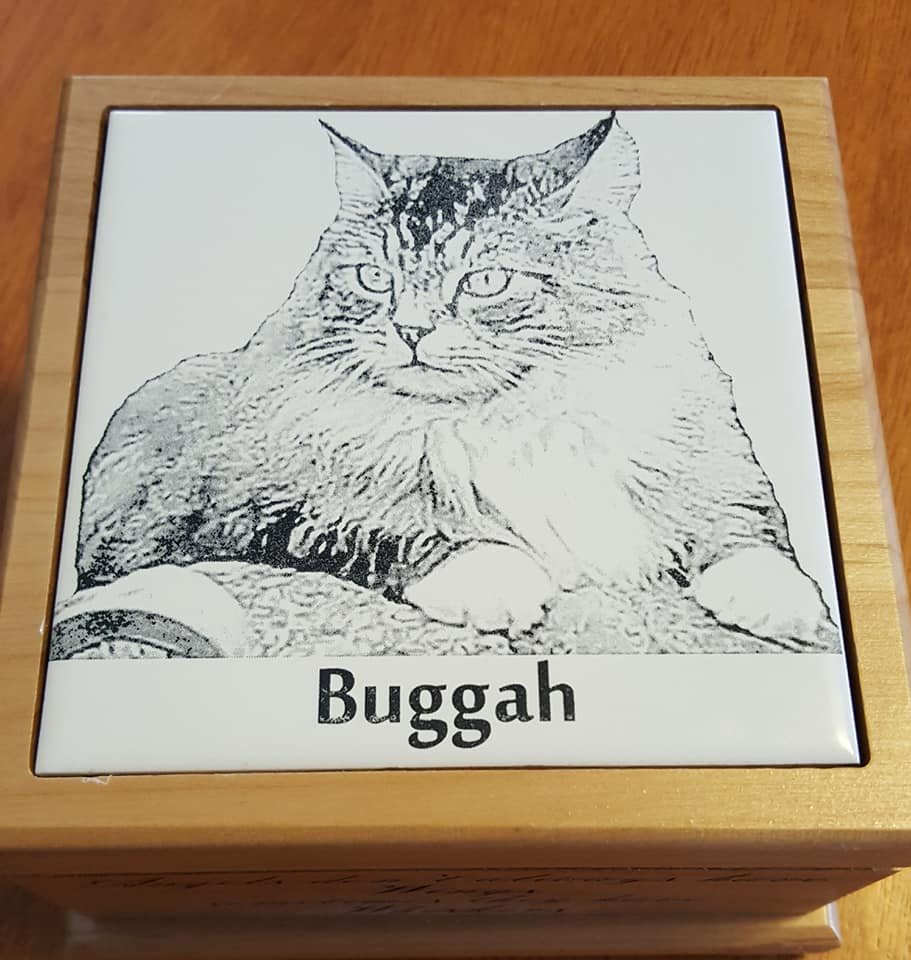 Buggah's Image on Urn