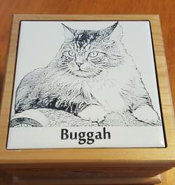 Buggah's Image on Urn