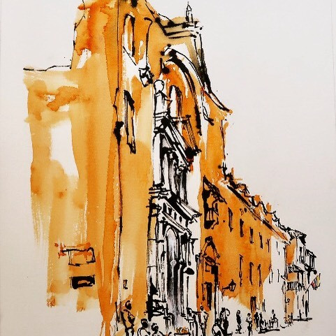 Cartegena Street Scene