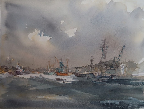 Ipswich Docks 1- SOLD