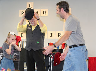 How Magician Marty Westerman Dallas Texas put smiles on people's faces during his magic shows