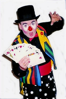 "Dallas Texas Magician Marty Westerman aka ""Hollywood"" the Clown performs strolling, and stage magic and if requested he does incredible balloon creations for all to enjoy at all types of events"