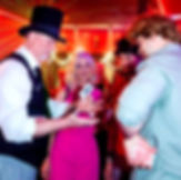 Dallas Magician Marty Westerman is amusing and amazing everyone with his sleight-of-hand magic