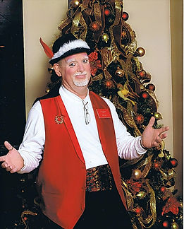 "Dallas Magician Marty Westerman has another favorite holiday character ""Tiny"" the Magical Elf"