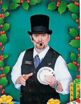 Dallas Magician Marty Westerman can become a victorian magician for holiday including close-up magic and/or stage performance