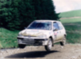Rally Driving Experience Days, UK Rally School, Rally Experience, Peugeot Cup Car