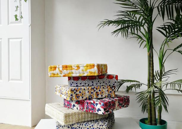 French Floor Cushions