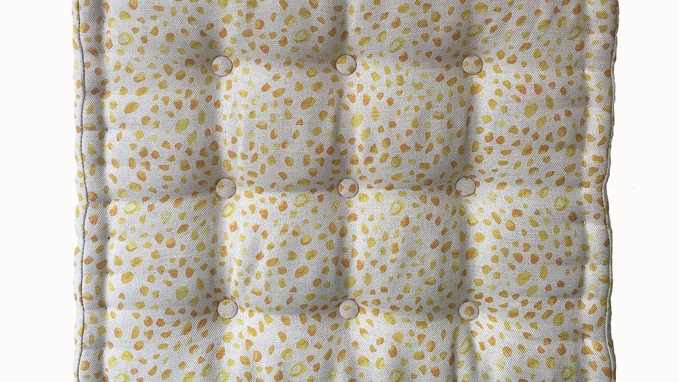 Inky Spots French Floor Cushion