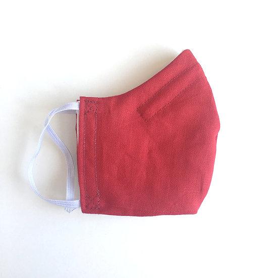 Raspberry Linen Mask