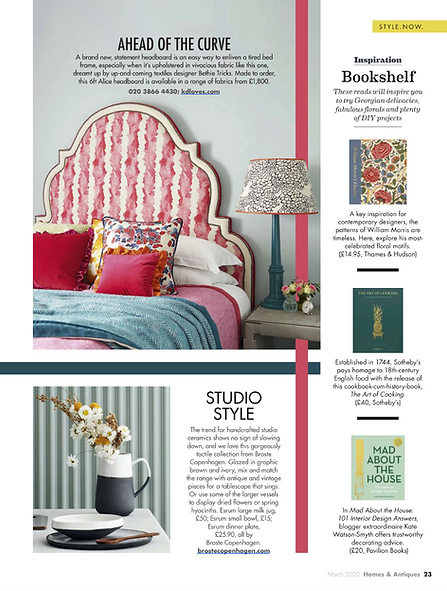 Homes & Antiques - March 2020