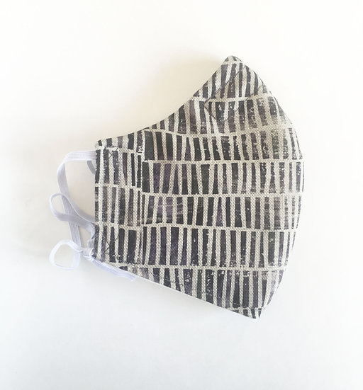 Blocks Cotton/Linen Mask