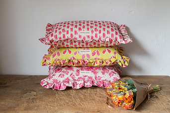 Ruffle Cushions