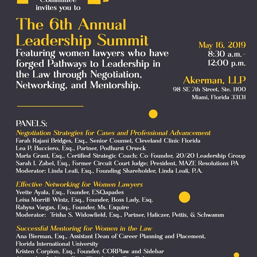 The 6th Annual Leadership Summit