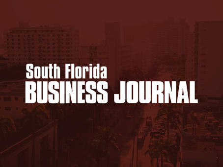 SOVEREIGN FEATURED IN THE SOUTH FLORIDA BUSINESS JOURNAL DEVELOPER TO BREAK GROUND ON 194-UNIT APART