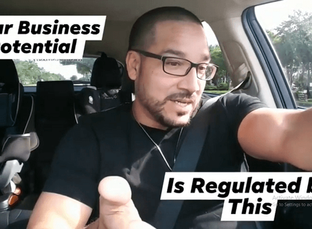 Your Business Potential Is Regulated By This