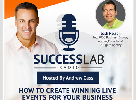 """Episode - 9 """"How To Create Winning LIVE Events For Your Business"""" with Guest, Josh Nelson"""
