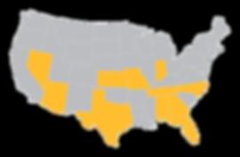 Nationwide Presence Map