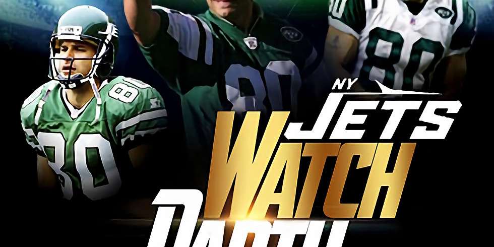 NY Jets Watch Party with Wayne Chrebet