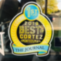Best of Cortez first place.png