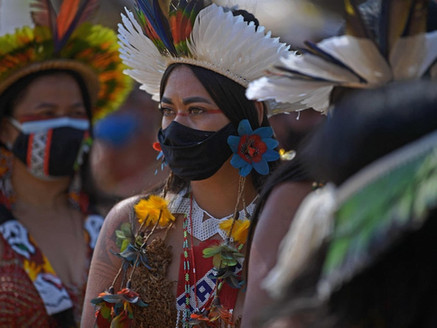 Indigenous Women Fight to Save Land in Brazil