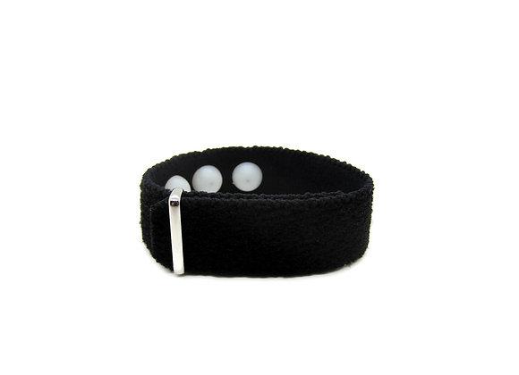 Acupressure Anti-Anxiety Bracelet, Stress Relief Wristband (Single) Black