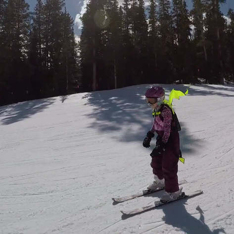Kideaux Dragon Child Ski and Snowboard Visibility Pack