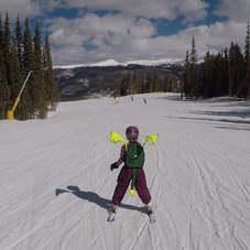 Kideaux Dragon Ski Visibility Pack