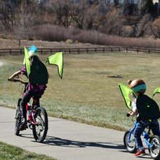 Kideaux Dragon biking