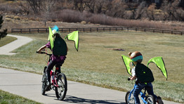 Start em' Young! Teaching bike safety to kids should start from day one (whatever day that is).