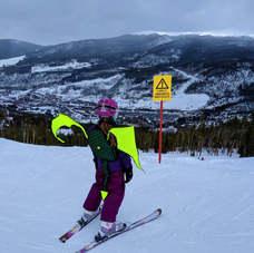 Kideaux Dragon Child Ski and Bike Visibility Pack