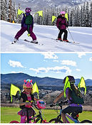 Child Ski and Bike Safety Pack for Visibility